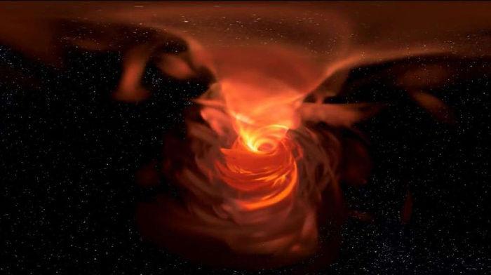 Mliečna dráha a jej čierna diera