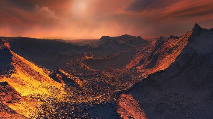 Exoplanéta pri Barnardovej hviezde