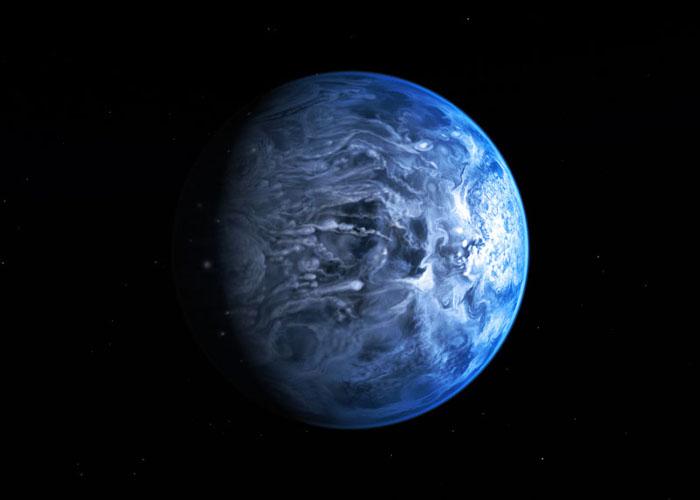 HST objavil modrú planétu