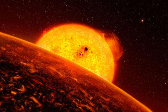 Planetárna sústava s maličkou exoplanétou