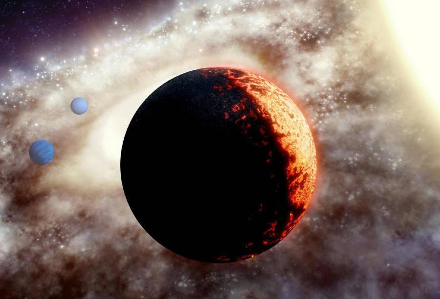 Pohľad do staručkej planetárnej sústavy