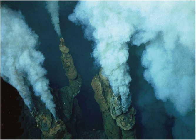 Život na ľadových svetoch môže pripomínať podmorské stvorenia pod Havajskou sopkou