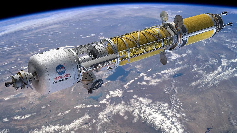 Zo Zeme na Mars za 100 dní, alebo sila jadrového pohonu